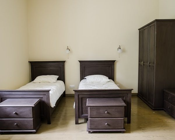 Miegamojo baldų komplektas dvaro stiliaus