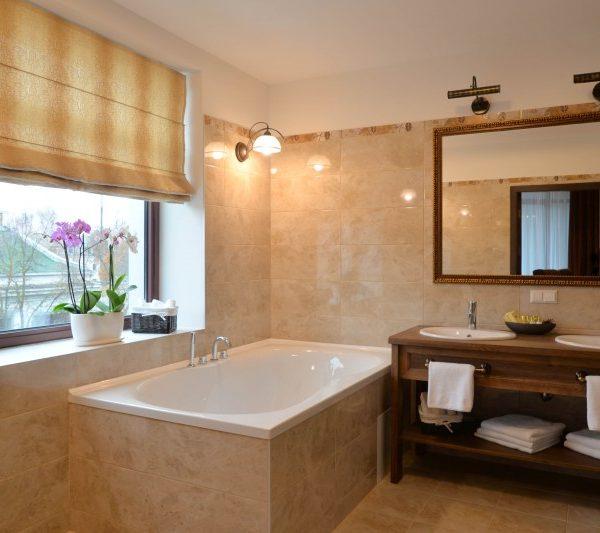 Viešbučio kambario vonios baldai